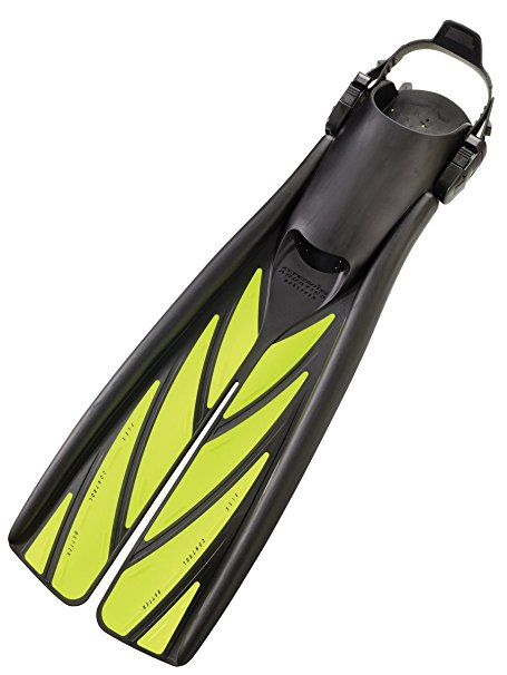 Atomic Split Fin Fins / Yellow / L - Dive Toy