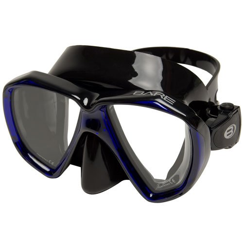 Bare Duo B Mask / Royal Blue / Black - Dive Toy