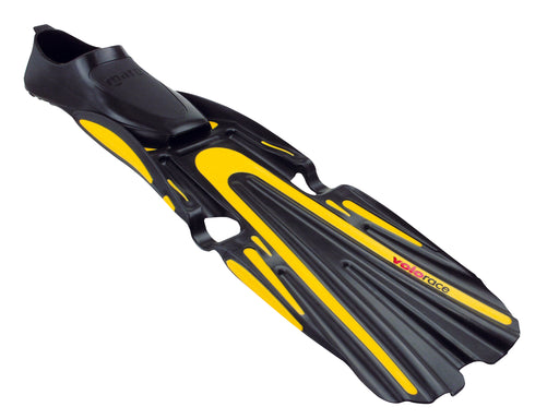 Mares Volo Race Fins / Yellow / Black / 3.5-4.5