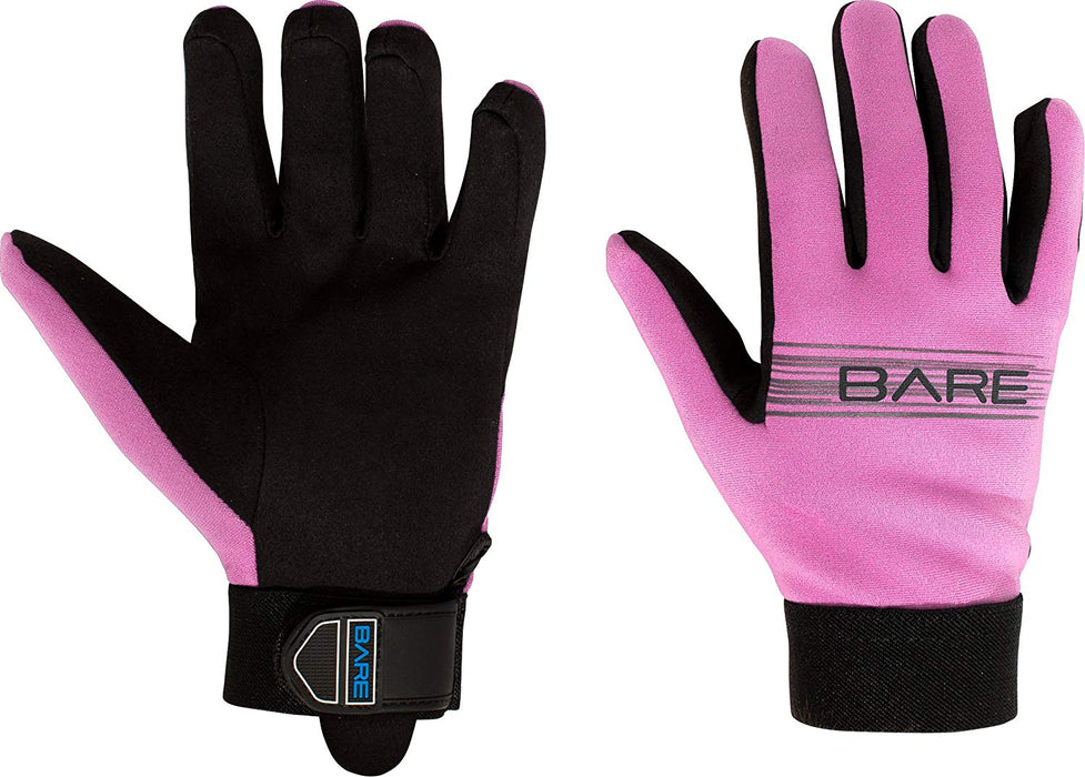Bare 2mm Tropic Sport Gloves / Pink / 2xs