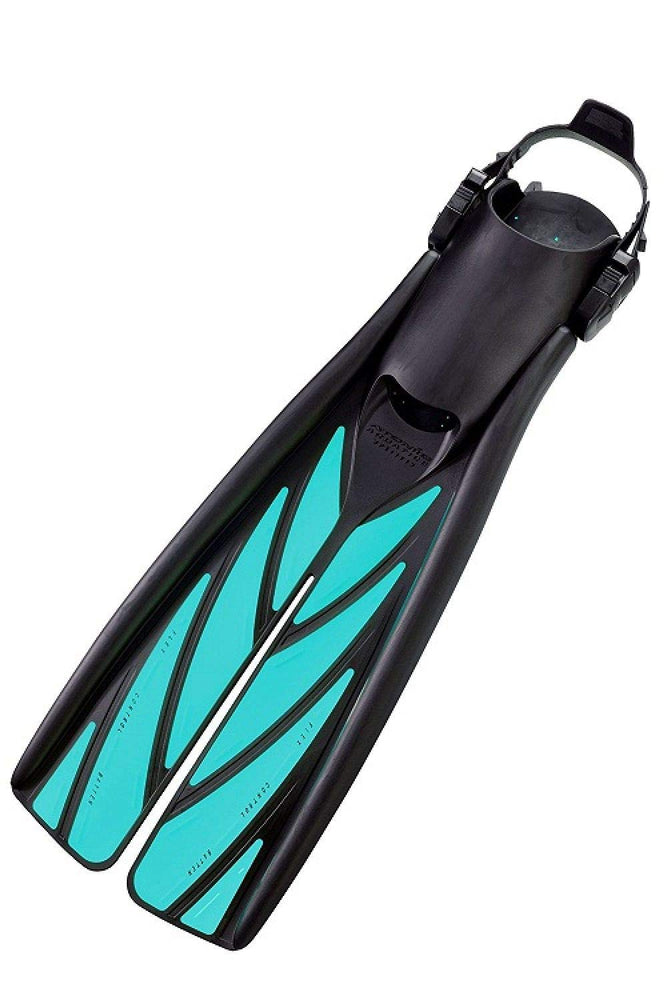 Atomic Split Fins / Aqua / Black / L