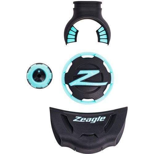 Zeagle F8 Color Kit Regulator Accessory / Glacier Blue / Black