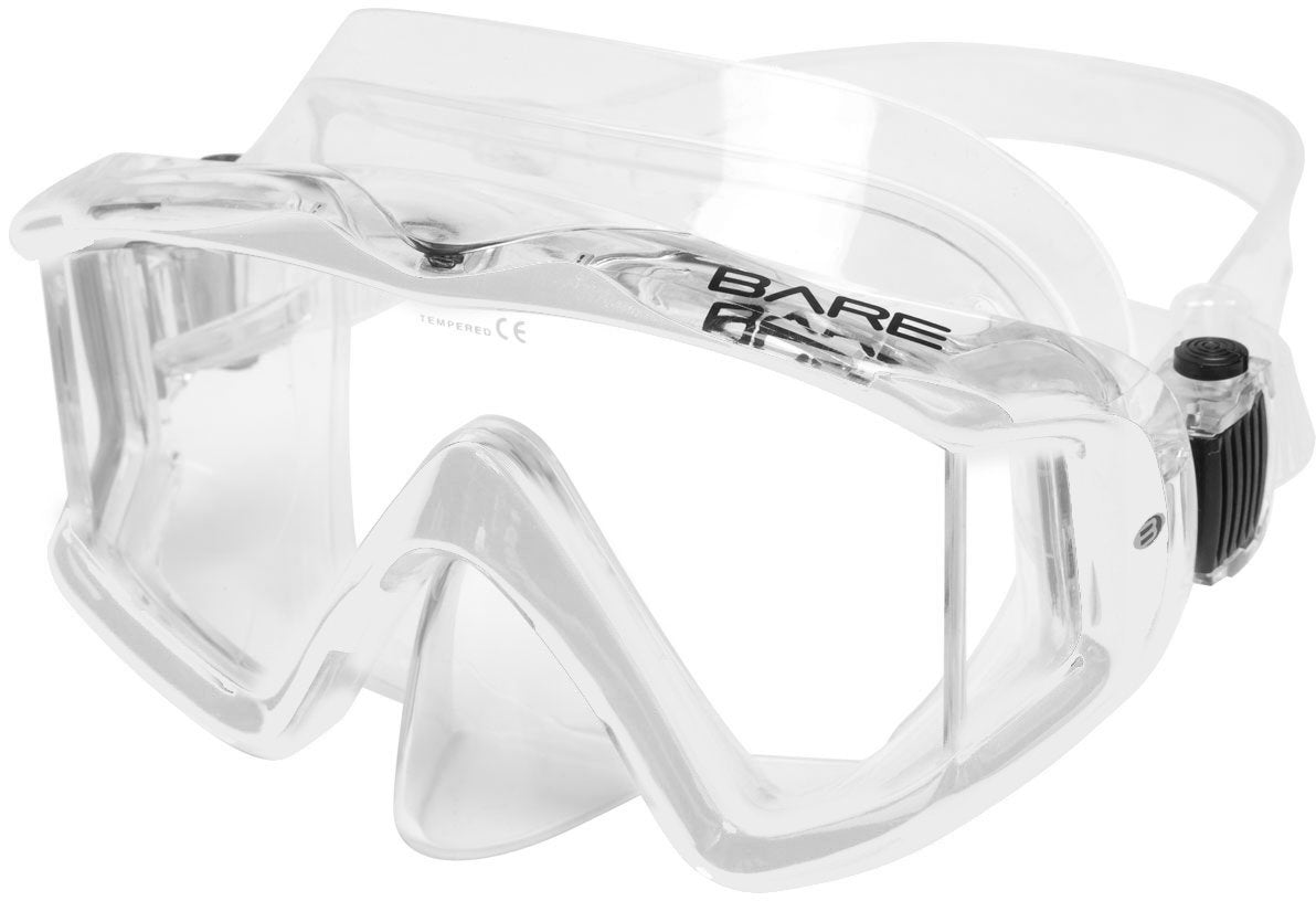 Bare Trio C Mask / Clear / Clear - Dive Toy