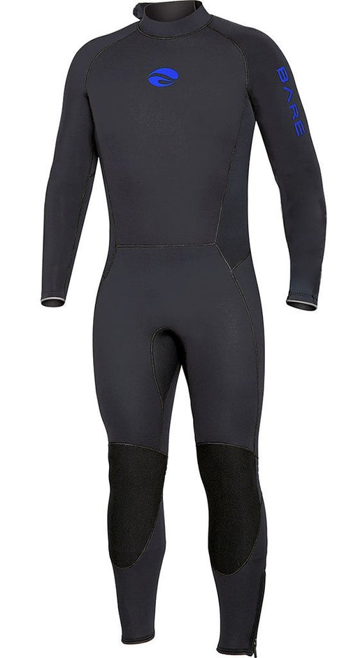 Bare 3mm Velocity 2017 Wetsuit / Blue / Black / MT - Dive Toy