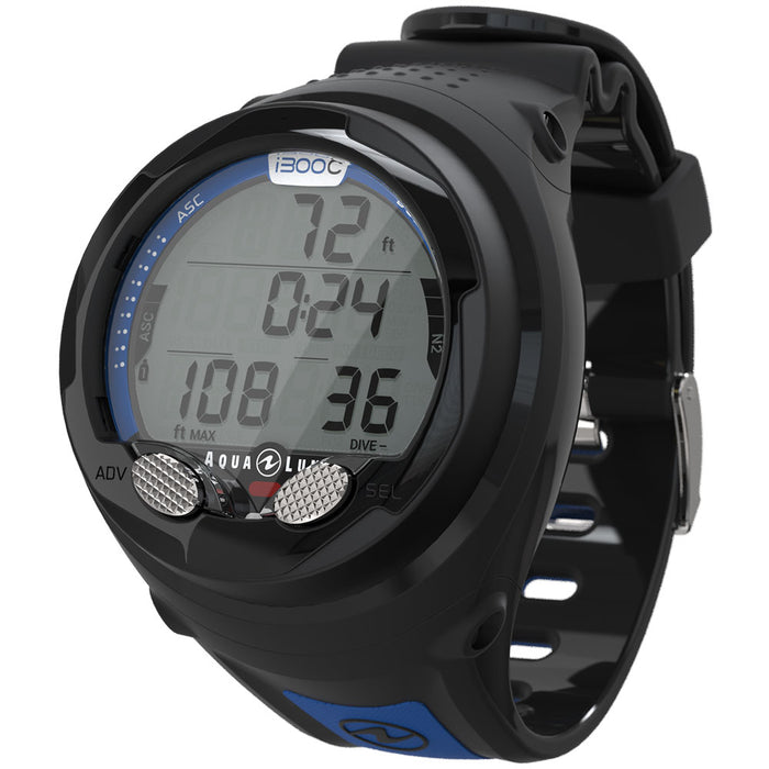 Aqua Lung i300C Computer / Blue / Black - Dive Toy
