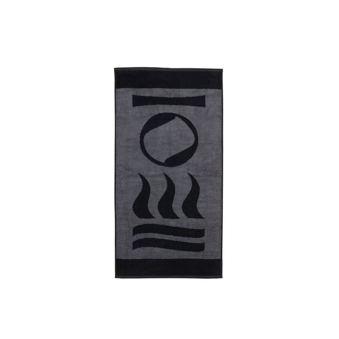 Fourth Element Drysuit Dive Towel Accessory / Black