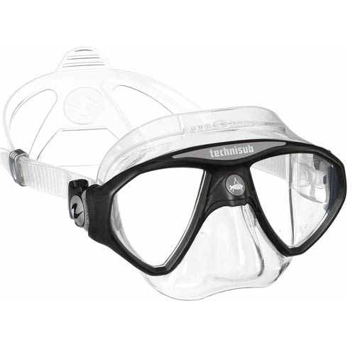 Aqua Lung Micro Mask / Black/ Silver