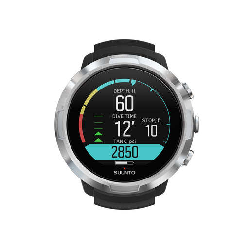 Suunto D5 Black with USB Cable Computer / Black / Silver