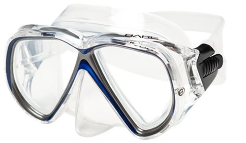 Bare Duo C Mask / Blue / Clear - Dive Toy