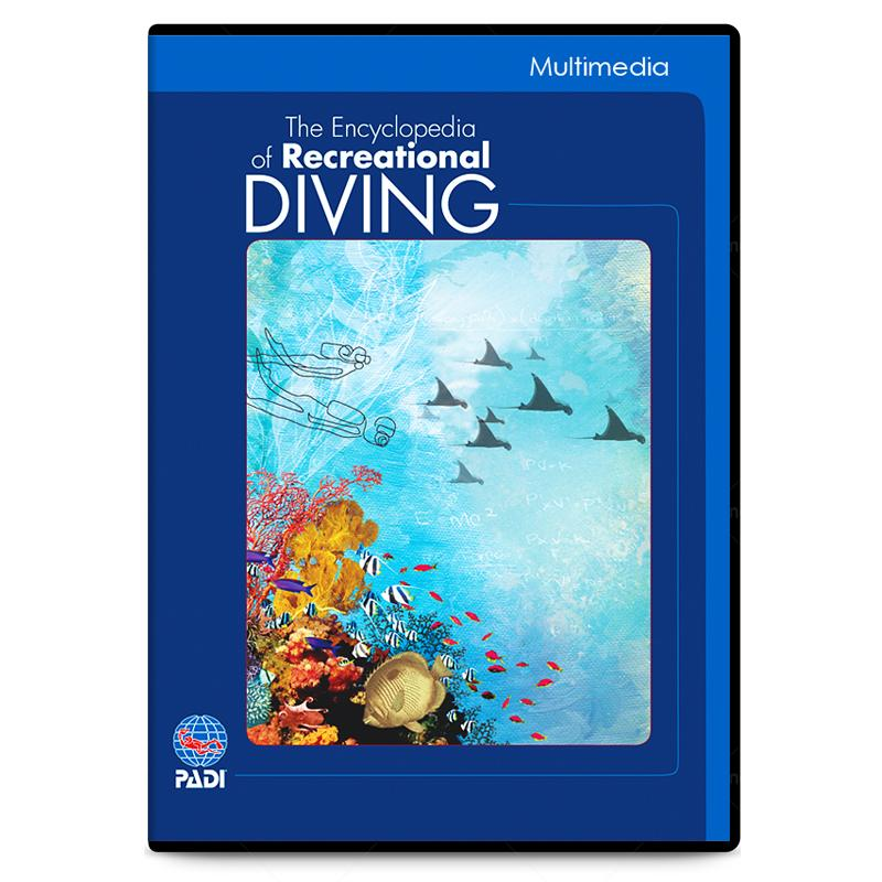 PADI The Encycopedia of Recreational Diving DVD Educational Material