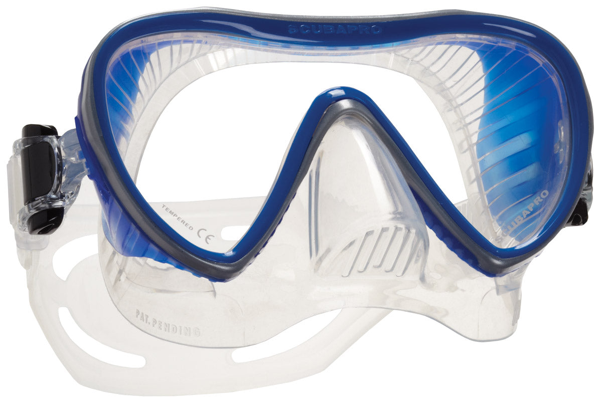 Scubapro Synergy 2 Mask / Clear / Blue