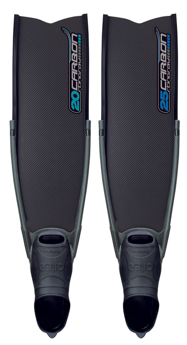 Omer Stingray Carbon 20 Fins / Carbon Fiber / Black / 11-12