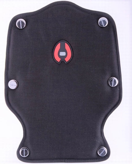Hollis Back Plate Back Pad w/Bookscrew BCD Accessory / Black