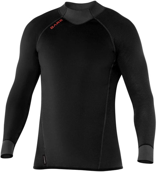 Bare EXOWEAR Top Mens Wetsuit / Black / 2XL