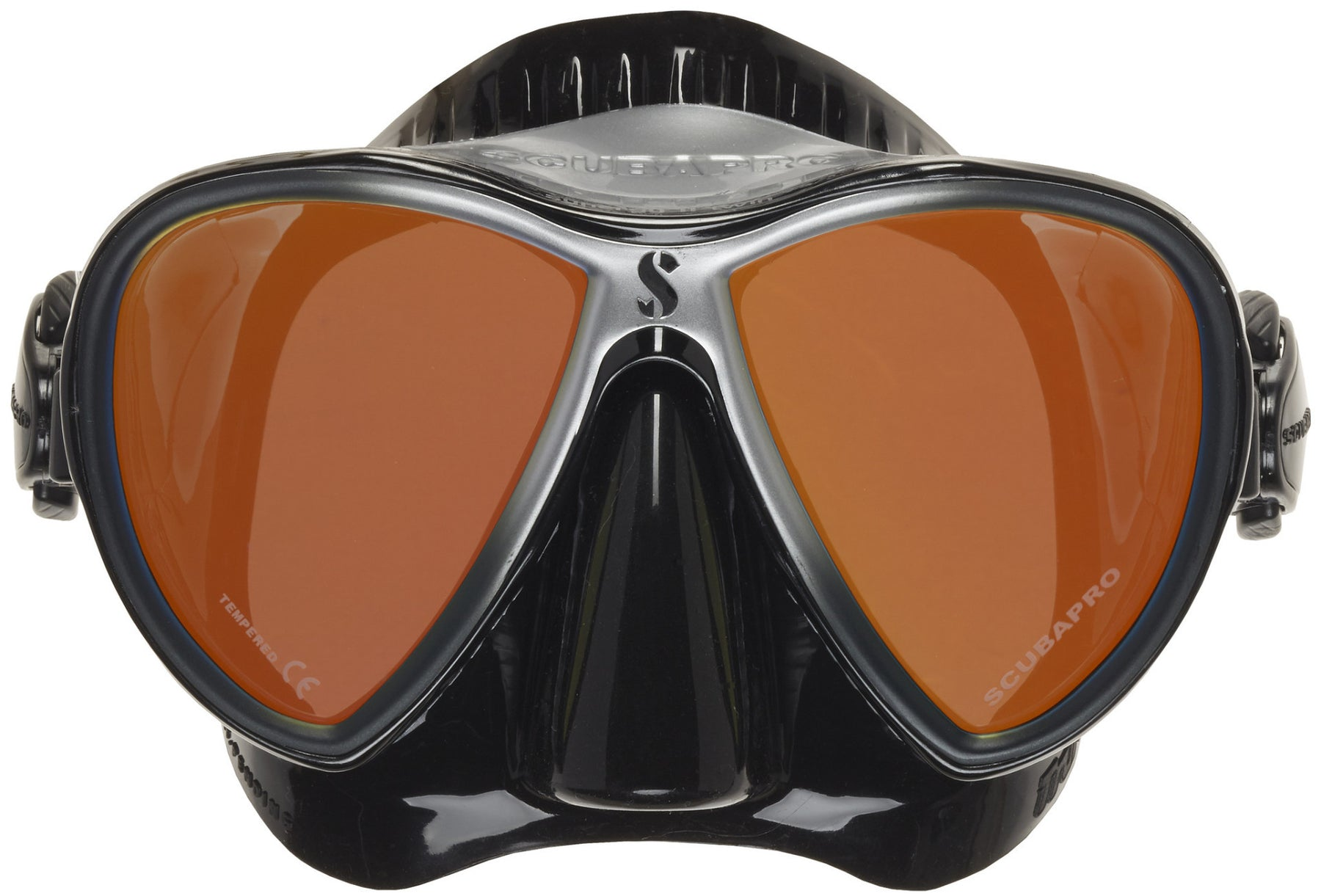 ScubaPro Synergy 2 Twin Mirrored Mask / Black / Silver