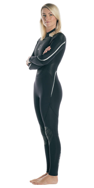 Fourth Element Proteus II 3MM Wetsuit Women / Black / Gray / 12