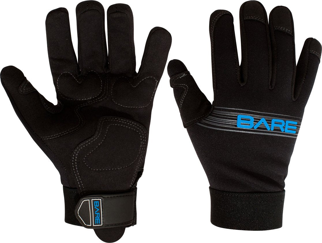 Bare 2mm Tropic Pro Gloves / Black / XL