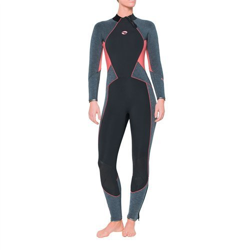 Bare Evoke 5mm Wetsuit Women / Coral / Gray / 6 - Dive Toy