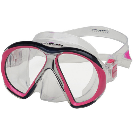 Atomic SubFrame Mask / Pink / Clear / Medium
