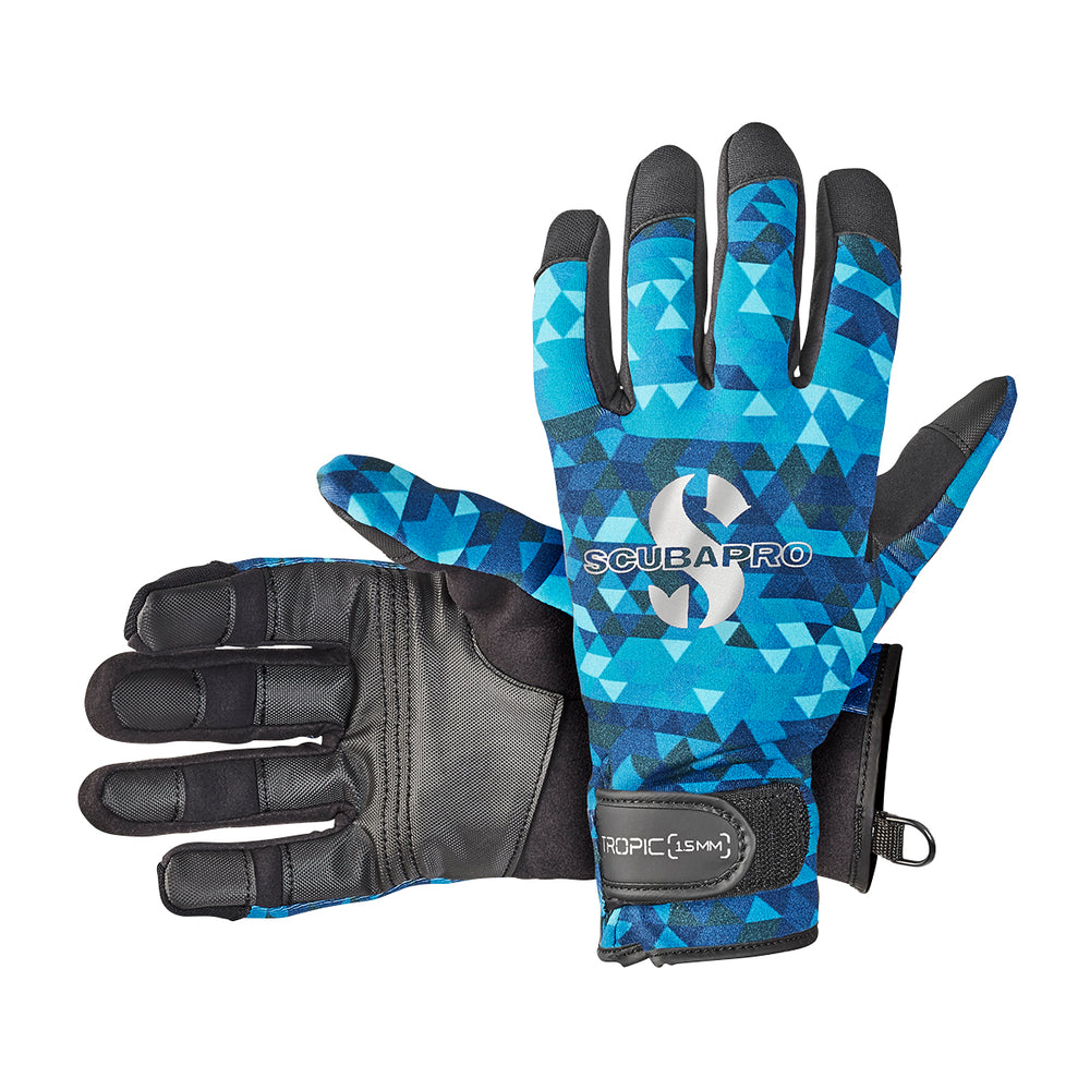 Scubapro Tropic 1.5mm Gloves / Blue / Aegean / L