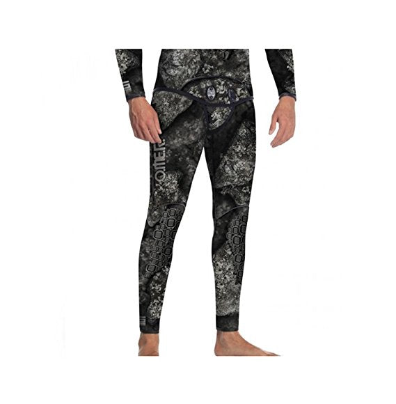 Omer Blackstone Pants 5mm Wetsuit / Black / Gray / XL