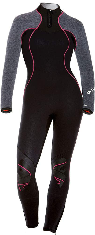 Bare 3/2 NIXIE ULTRA FULL Wetsuit / Heather / Grey / 10