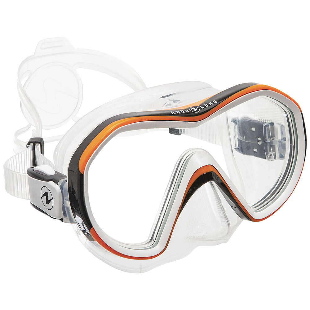 Aqua Lung Reveal Mask / Orange / Clear - Dive Toy