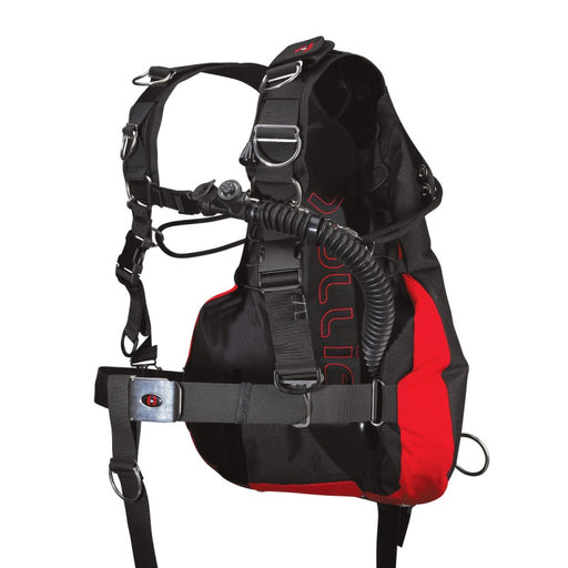 Hollis SMS75 Complete Single Package BCD / Red / Black / L/XL