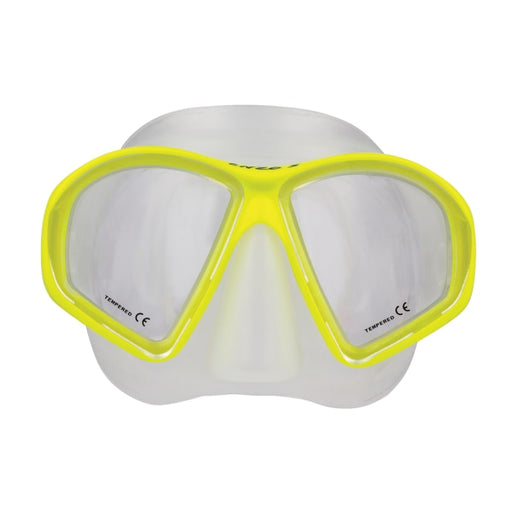 Oceanic Enzo Mask / Yellow / Clear
