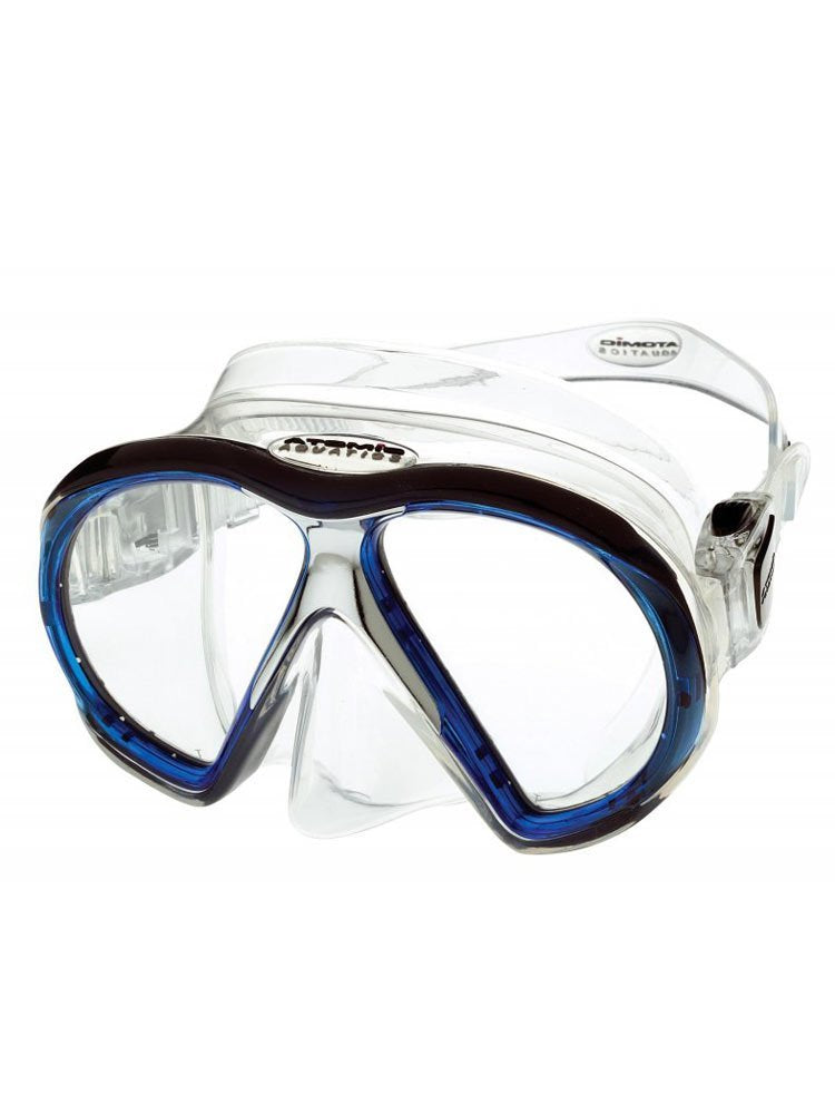 Atomic Subframe Masks / Clear / Blue - Dive Toy