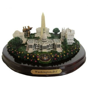"Oval Washington, D.C. Monuments Desk Statue - 8"" Wide"