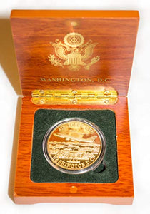 Air Force Once Coin in Wood Box