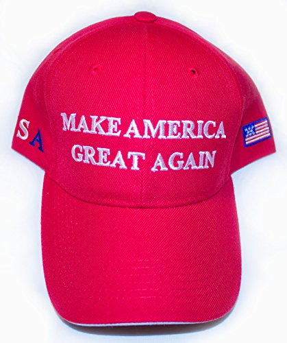 Trump/ Make America Great Again Baseball Cap in Red