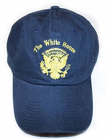 The White House with Great Seal Navy Hat