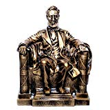 Large Abraham Lincoln Desk Statue