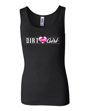 Heart Dirt Girl Tank