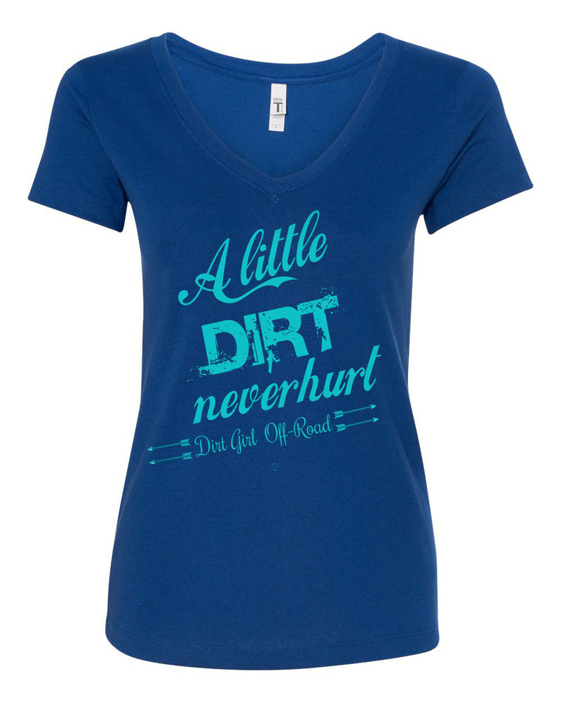 Dirt Never Hurt V-Neck