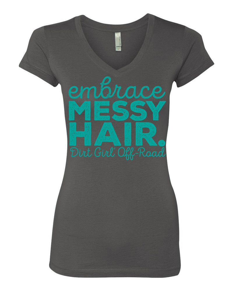 Embrace Messy Hair- Tee