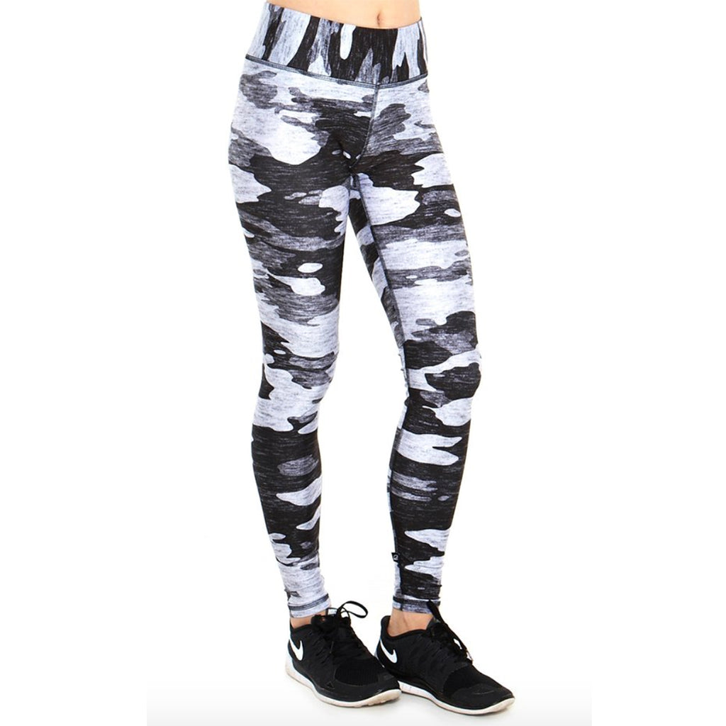 Grey Heather Camo Legging
