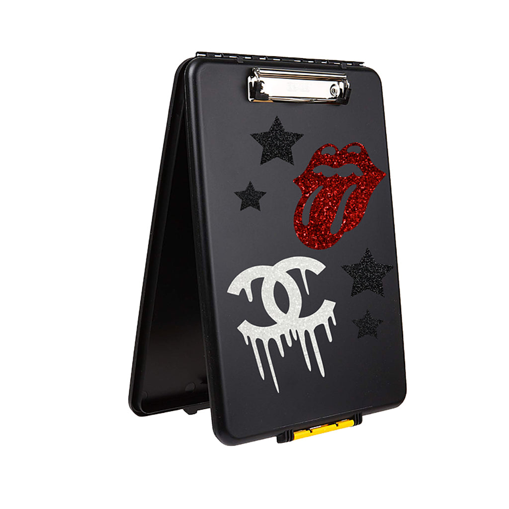 Rock n Roll Storage Clipcase (personalized)