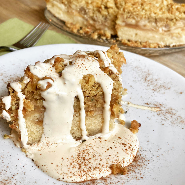 Drunken Apple Pie Skillet Cake