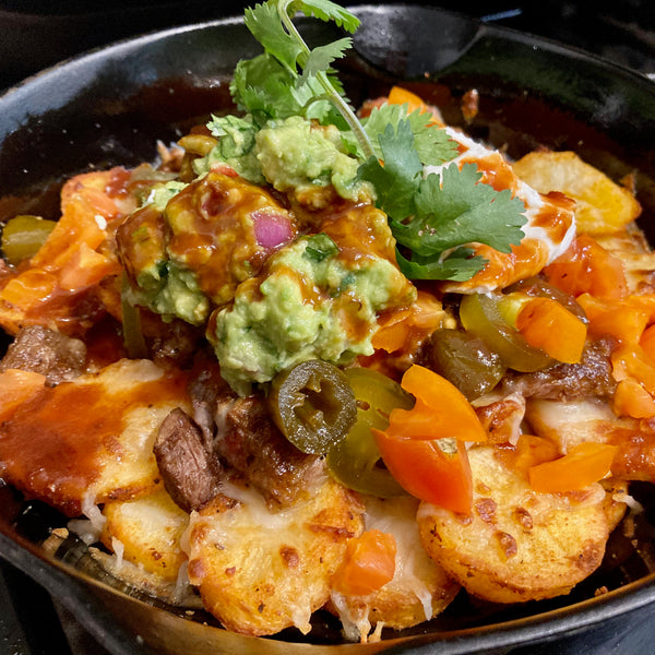 Nacho Ordinary Steak n' Potato Nachos
