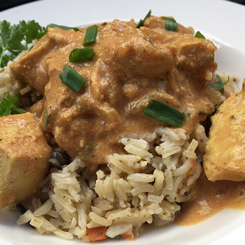 SLOW COOKER CHICKEN MAKHANI