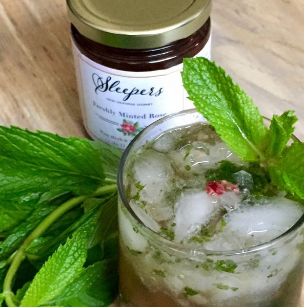 Freshly Minted Rose Julep