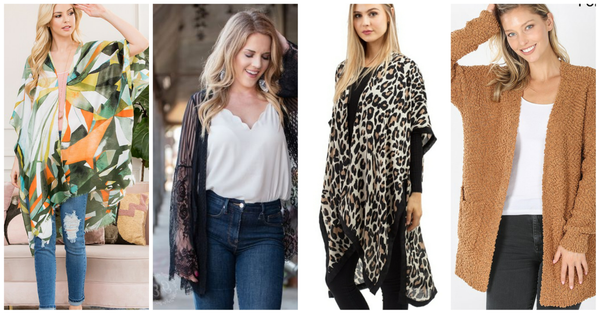 Kimonos!! Cardigans and Outerwear