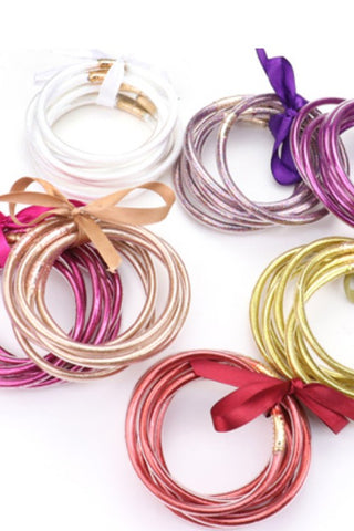 Mix & Match Jelly Bangle Bracelets