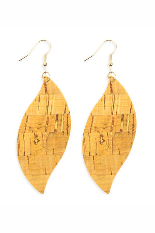 Cork Marquis Earrings