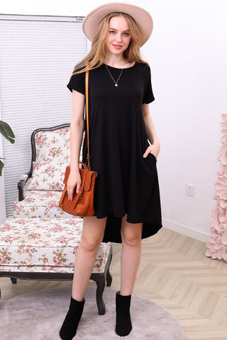 High Low Swing Dress