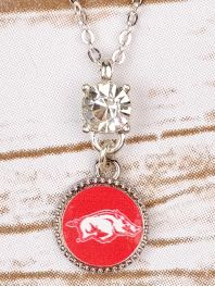 Hogs Sparkle Drop Necklace