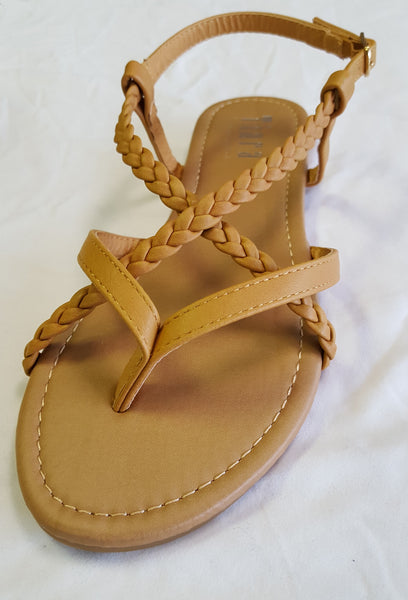 Rio - Braided Strappy Sandal